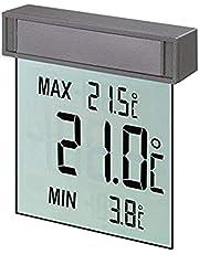 TFA Dostmann Vision digital fönstertermometer, 30.1025, stor display med utomhustemperatur