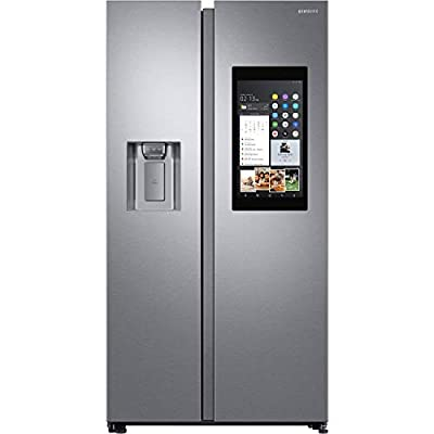 Samsung RS68N8941SL 613 Litre American Style Fridge Freezer Touchscreen 2 Door 91cm Wide - Silver