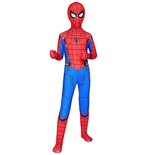Simile Spiderman Tipo Homecoming Cosplay Costume Carnevale Animazione Uomo Bambino Cosplay SPM012 (130)