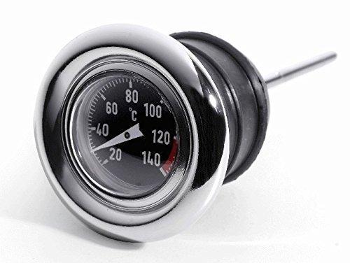 Öl Temperatur Messstab Celsius Thermometer für Harley Davidson Softail Sportster