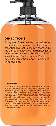 Majestic Pure Cellulite Cream, 87% Organic, Tight Muscles