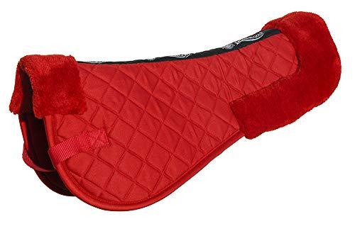 Rhinegold Comfort - Imbottitura per Sella, Colore: Rosso