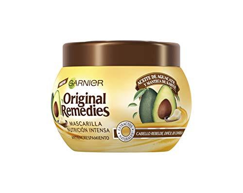 Garnier Original Remedies Aceite de aguacate y manteca de karité Mascarilla capilar...