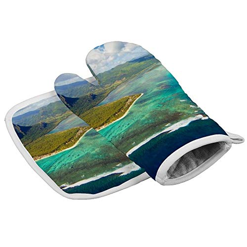 uniquepig 160418122007 07 tripadvisor World Best Islands 2016 Oven Mitts and Pot Holder Sets,Cute Kitchen Oven Gloves,Heart Resistand Oven Mitts Non Slip Pothoders,2 Pieces, for Women