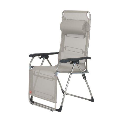 Amida fauteuil relax avec traversin taupe