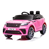 Aneken 12V Kids Ride On Car with Spring Suspension, Licensed Land Rover with Battery...