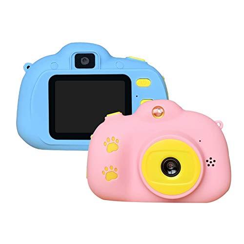 Yiwa kindercamera mini digitale camera Cartoon kinderen, Roze