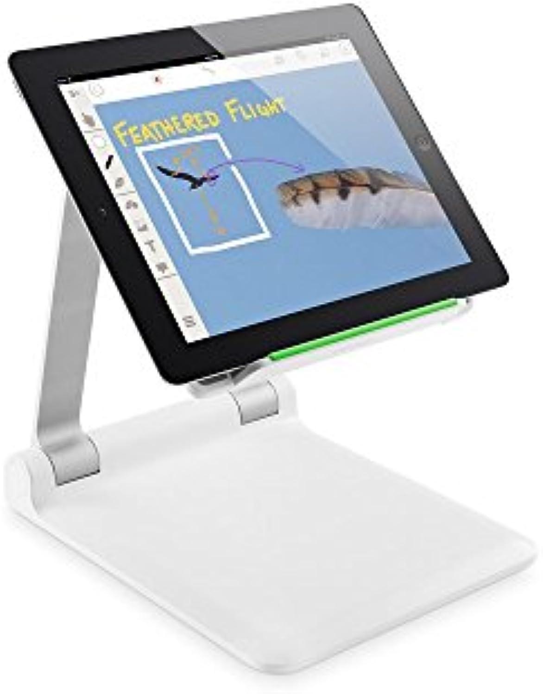 Belkin Portable Tablet Stage mobiles interaktives Weißboard, Dokumentenkamera (geeignet für Tablets von 7 Zoll bis 11 Zoll, inkl. Stage App)