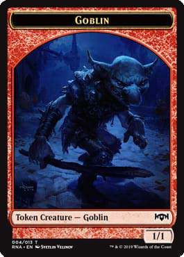 Magic: The Gathering - Goblin Token - Ravnica Allegiance