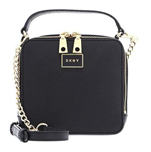 DKNY Steffy Square Crossbody Bag Black/Gold