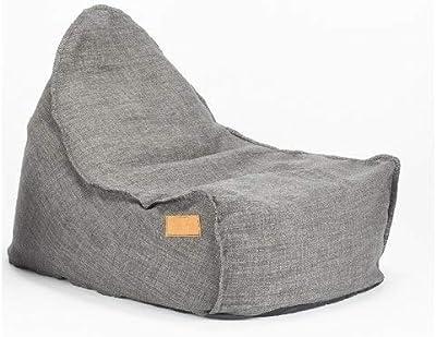 レイジーバッグ(Lazy Bag Paris) ビーズクッション グレー 80×66×66 LazyBagParis