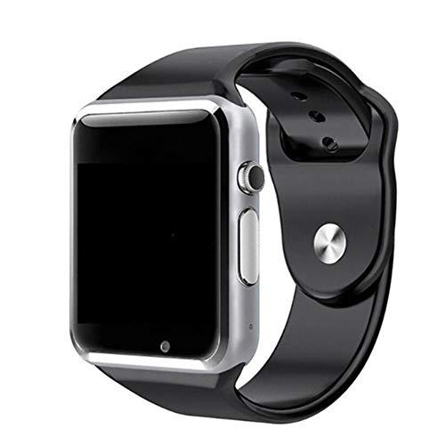 Waterdichte smartwatch heren bluetooth smartwatch Android/geschenk dames Bluetooth Smart Watch Smart Watch SIM ondersteuning telefoon horloge Android voor kinderen horloge, Add 16G card, zilver.
