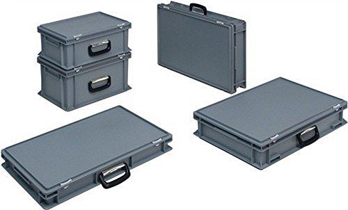 Lockweiler Kunststoffkoffer 20l PP m.1Griff L400xB300xH233mm PC20-139.