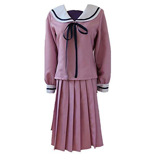 Rcinodhilary Anime Noragami Yato Yukine Cosplay Iki Hiyori Kostüm Uniformkleid Halloween Sportswear Kleid Anzug für Männer und Frauen