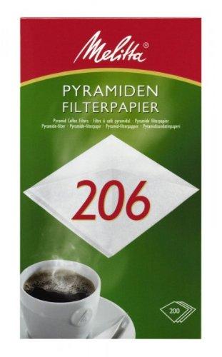 200 x Pyramiden Filterpapier / Kaffeefilter