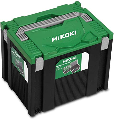 Hitachi HIT System Case IV Hikoki Transportkoffer HSC 295x395x315 mm, Grün Schwarz, 295x395x315