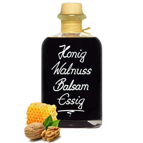 Honig Walnuss Balsam Essig 0,5L balsamartig, nussig und sehr mild! 5% Säure