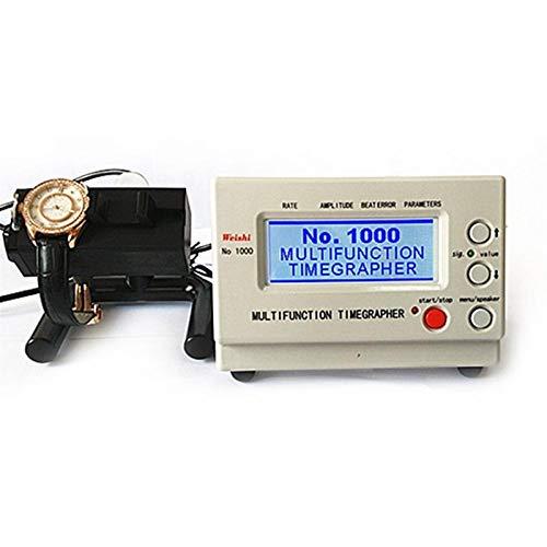 LXH-SH Mechanical Watch Tester Timing TimegraPher Watch Timing Machine Tester Kalibrierreparaturwerkzeuge für Reparaturen und Hobbyisten (Color : EU Plug)