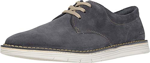 Clarks Men's Forge Vibe Oxford, Storm Suede, 100 M US