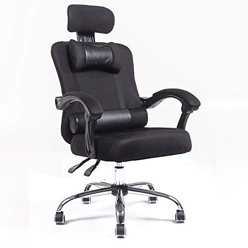 Jian E - Draaistoel-computerstoel thuiskantoorstoel ergonomische persoonlijke stoel-zit-terugtrekende voet-lift-stoel /-/
