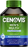 Cenovis Men's Multi + Performance - Multivitamin formulated for men - Supports physical