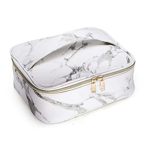 YNuo Multifonction Sac cosmétique Organisateur Voyage Maquillage Box Kit de Lavage Toilette de Toilette Sac Kit Voyage étanche (Color : White)