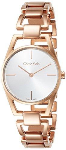 Calvin Klein Reloj Analogico para Mujer de Cuarzo con Correa en Acero Inoxidable K7L23646