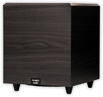 Acoustic Audio PSW 10 400 Watt 10 Inch Down Firing Powered Subwoofer Black product image