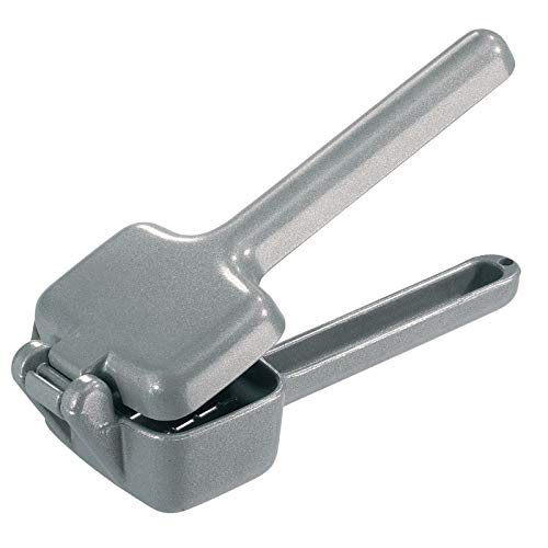 Westmark Petit Broyeur à Glaçons, Aluminium Moulé sous Pression, Longueur : 17,3 cm, Cuby, Argenté, 12002260