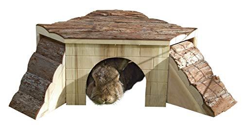 Kerbl Maisonnette pour Rongeurs Nature 37x37x16 cm