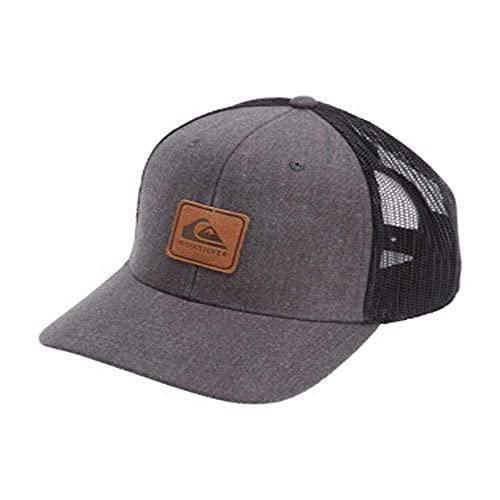 Quiksilver Herren Easy Does It Snap Back Trucker Hat Hut, schwarz, Einheitsgröße