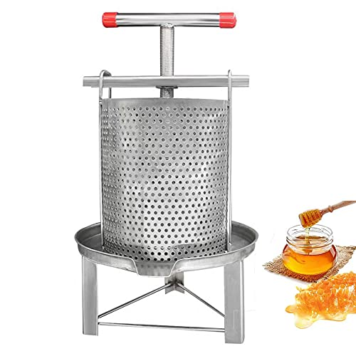 Cheese Honey Manual Press,Stainless Steel Press for Squeeze Juice out of...