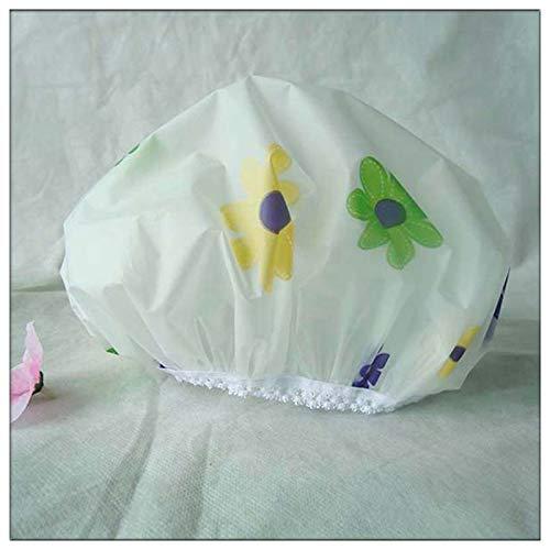Mode Shredded Flower Bath Cap EVA Eco-Friendly Bath Cap Eco-Kitchen Cute Bath Cap Bulk