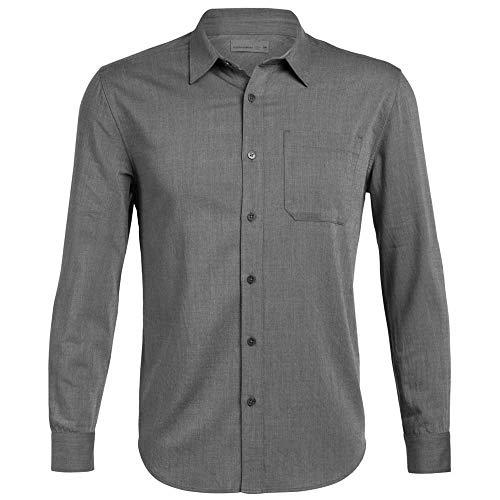 Icebreaker Compass Flannel Shirt Men - Merino Outdoorhemd