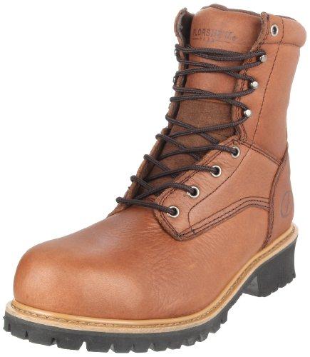Florsheim Work Men's Lumberjack FE860 Work Shoe, Brown, 11.5 D US
