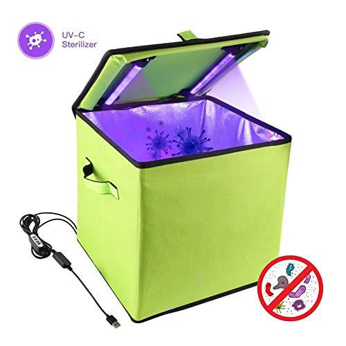 USB UV desinfectie Bag Ozon Kiemdodende Box met 19pcs SMD LED Kralen voor Hotel Huishoudelijk Kantoor Disinfect Bacteriële Kill Mijten Deodorizer - High Capacity UVC Sterilisator