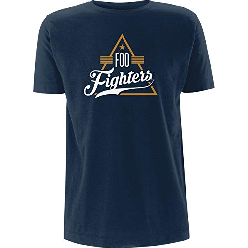 Foo Fighters 'Triangle' (Blue) T-Shirt (xx-Large)