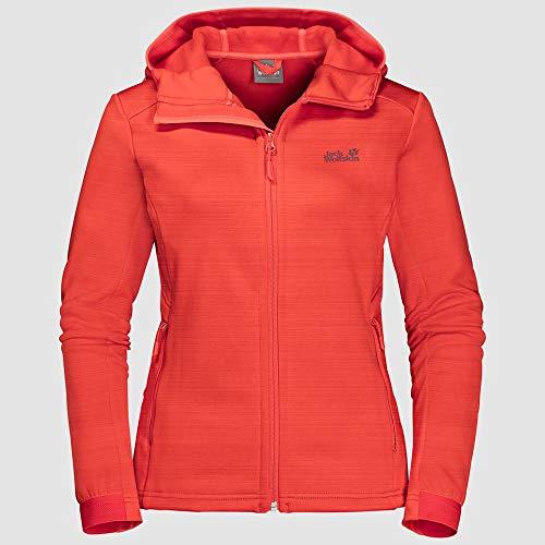 Jack Wolfskin Damen Morning Sky Jacket Women Pullover, Green Haze, XL