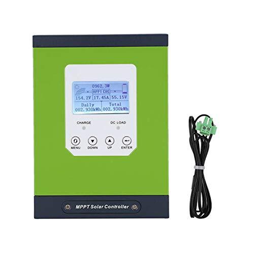 WANGYONGQI Solarladung Controller 30A, LCD-Anzeige Mit Temperatursensor 12V / 24V / 48V Automatik CE/PSE/FCC/EMV,48v