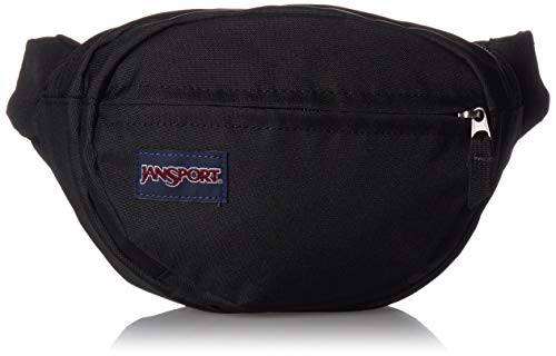 Jansport - Cangurera casual Fifth Avenue, color negro