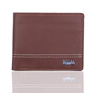 Royal Deep Brown Polyurethane For Men - Bifold Wallets