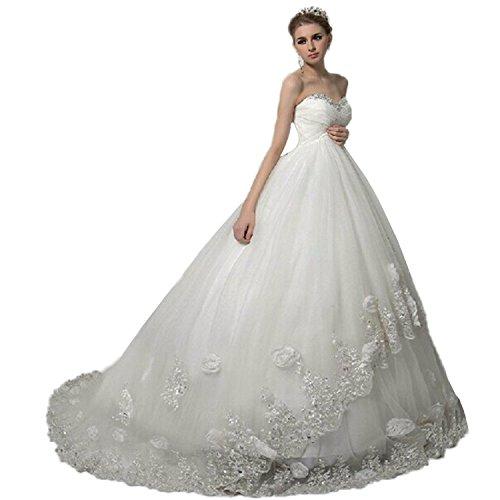 Cloverbridal Empire Elegant Spitze Blumen Mutterschaft Hochzeitskleider Brautkleid Braut Schwanger Hochzeitskleid Kleider