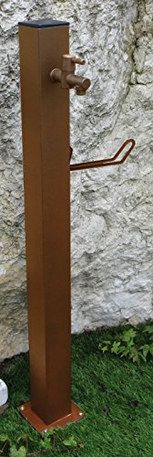Punto acqua quadrato, bronzo, serie tavolozza