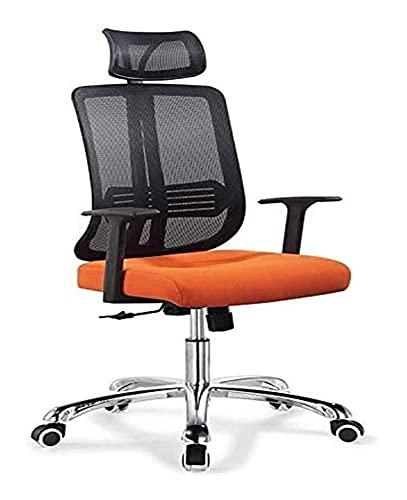 Bürostuhl Ergonomie Schreibtischstuhl Ergonomischer moderner Schreibtischstuhl mit hoher Rückenlehne Verstellbares Sitzkissen Gaming-Computer oder Bürostuhl Atmungsaktiver Netzrücken-Bürostuhl