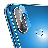 Película de la Lente para teléfonos móviles 0.3mm 2.5D Transparente cámara Trasera Film Protector de la Lente Vidrio Templado for el Xiaomi Mi MAX 3