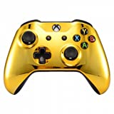 xbox 360 controller gold shell - Chrome Gold Wireless Bluetooth Custom Controller for Xbox One