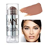 SUCHUANGUANG Colorete para mejillas Brillo Blush Stick Maquillaje Facial Resaltador Bronceador Crema de Contorno Colorete Crema de Contorno 8#