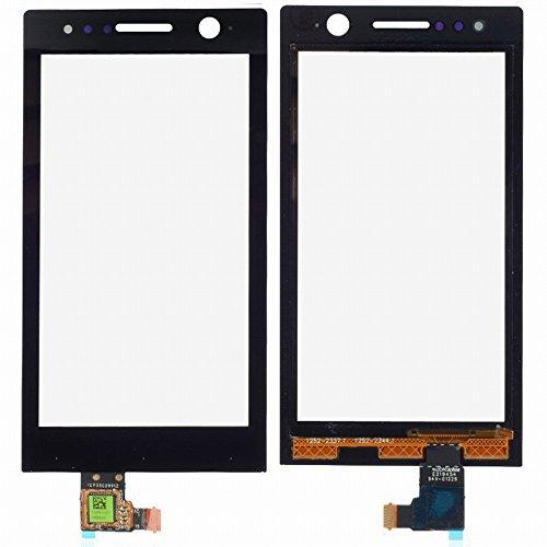 ixuan per Sony Xperia U ST25i ST25ST25a Display Nero Touch Screen Digitizer vetro anteriore (senza LCD) parti di ricambio