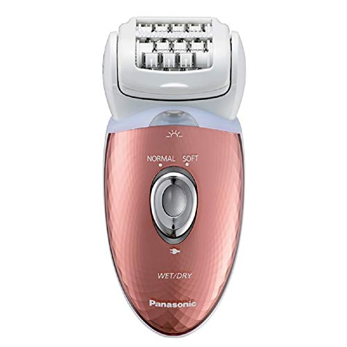 Panasonic ES-ED93 Wet & Dry Cordless Epilator for Women with 6 attachments