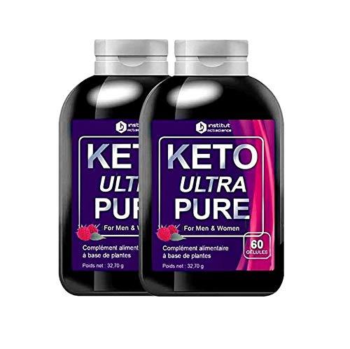 Formule Keto Ultra Pure Booster d'énergie - Cure 2 mois - Aide à la perte de poids - Ingrédients 100% Naturels